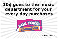 Parents help the music department earn money