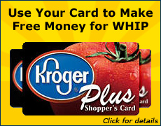 Use Your Kroger Plus Card to Make Free Money for WHIP