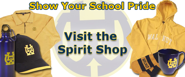 Show your school pride! Visit the Spirit Shop.