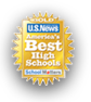 US News - America's Best High Schools - Ranked 65th in USA and awarded Gold Medal status.